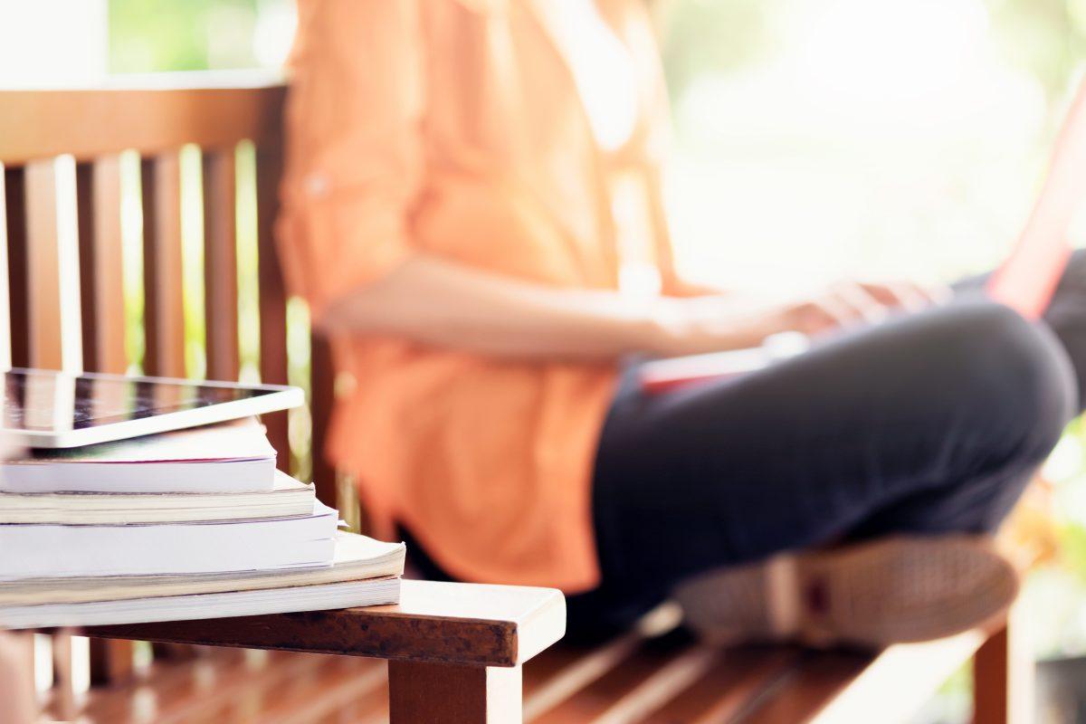 Opiskelija ja kirjoja